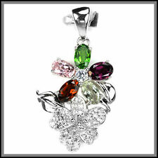 Tourmaline Sterling Silver Fine Necklaces & Pendants