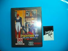 KING OF FIGHTERS '97 FOR PLAYSTATION 4 PS4 SEALED CLASSIC EDITION LRG WITH CARD!
