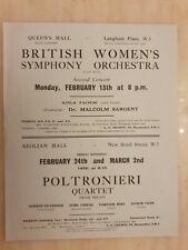 More details for 1928 british women's symphony orchestra poltronieri quartet alfred blumen