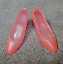 Barbie 1960s Shoes Francie Vintage Japan Mattel Pumps Heels Soft Spongy Opaque