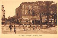 BR45502 Place kleber et rue haute d Orleans Oran algeria