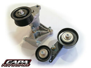 LSA Supercharger Tensioner, Idler Pulleys and Mounting Brackets