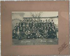 1928 PREMILITARI BUSCA CUNEO foto originale d'epoca Pignatta fascismo esercito