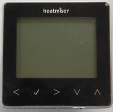 HEATMISER NEOSTAT SAPPHIRE BLACK PROGRAMMABLE THERMOSTAT Version 1