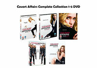 Covert Affairs Complete Collection 1-5 DVD All Seasons 1 2 3 4 5 UK Release NEW