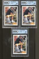 3 CT 1991 Brett Favre Upper Deck #13 Gem Mint 10 RC Rookie Green Bay Packers