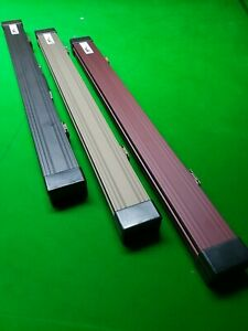 Cue craft pool snooker lockable cue case aluminium 2 piece cue NEW strong padded