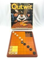 Vintage Outwit Board Game 100% Complete 1978 Parker Brothers No 226 Two Players