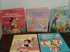 Vintage, Tell a Tale Books, Nancy and Sluggo the Big Surprise, lot of 5