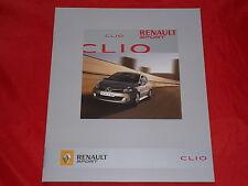 Renault Clio Renault Sport 2.0 16v folleto de 2008