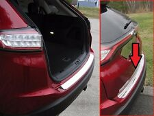 Fits Ford Edge 2015-2017 Stainless Polished Chrome Rear Bumper Accent Trim 1PC