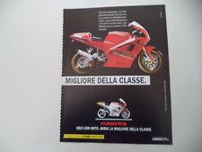 advertising Pubblicità 1992 MOTO CAGIVA MITO 125 7 SPEED/LUCKY EXPLORER