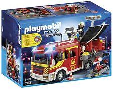 Playmobil fire engine avec lumières et son 5363