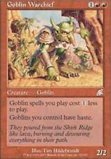 *MRM* FRENCH Chef de guerre gobelin ( Goblin Warchief ) MTG Scourge
