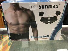 Sunmas Ab Belt Abs Stimulator Electronic Muscle Stimulator Toning belt Workout