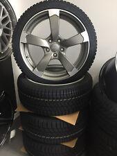 17 Zoll Winterkompletträder 225/55 R17 Winter Reifen für Audi A6 4G S-Line Rotor