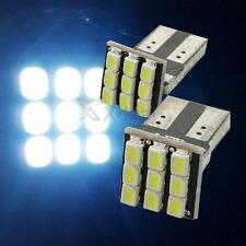 XD#3  2 x T10 194 168 W5W  9-SMD Car White LED Light DC 12V License Plate Lamp
