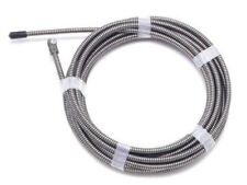 "Monument Drain 25he1 Flexicore Snake 25ft x 1/4"" for Super Power-Vee PH Rooter"