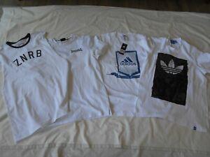 Mens t shirts bulk lot, Adidas, Lonsdale, Z x Zanerobe 1 bnwt  size Large