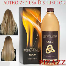 COCOCHOCO Gold Brazilian Keratin Hair Treatment 33.8 oz / 1000 ml