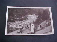 Ved Laatefos Hardanger Norge Postcard