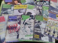 WHEN SATURDAY COMES - FOOTBALL MAGAZINES - 1990 - 1996 - 14 EDITIONS