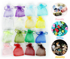 Drawstring Organza Favor Xmas Jewellery Gift Bags Gold/White/Pink/Red/Blue/Beige