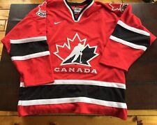 2002 Olympic Team Canada Nike Hockey Jersey