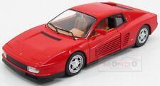 Ferrari Testarossa 1984 Red Burago 1:24 BU26014R