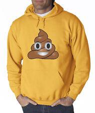 New Way 119 - Hoodie Hooded Sweatshirt Apple Facebook Emoji POOP Cartoon Funny