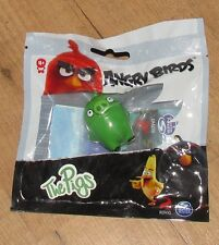Rovio Angry Birds The Pigs Pig Figure Spin Master Black new sealed bag 4.5 cm