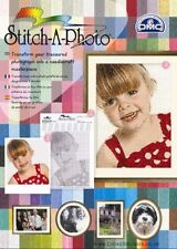 2 x DMC Stitch-A-Photo Cross Stitch Chart Conversion Packs - FREE UK DELIVERY