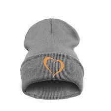 Beanie hats hat  Heart Baby Boy Girl I Love You Knit Oversized Warm Winter Cap