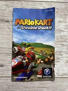 Gamecube Mario Kart Double Dash Original INSTRUCTIONS MANUAL ONLY