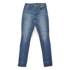 LEVIS High Rise Skinny Damen Jeans W29 L34 Slim Fit Hose Woman Pants blau wieNEU