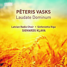 Peteris Vasks : Peteris Vasks: Laudate Dominum CD (2017) ***NEW***