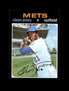1971 Topps Baseball #527 Cleon Jones (Mets) NM