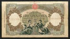[NC] REPUBBLICA ITALIANA -  5000 lire - REGINE del MARE - (Decr. 24/03/1955)