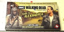The Walking Dead Road to Alexandria 2018 Trading Card Box New!!!