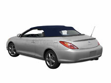 Toyota Solara 2004-09 Convertible Soft Top, w/Glass Window, Stayfast Cloth, Blue