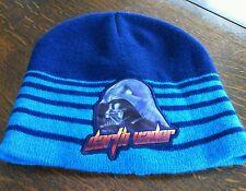 Beanie Hat Skull Caps 1 Size Star Wars Darth Vader Toque Blue Warm Winter Wear