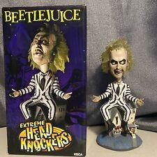 NECA Bobblehead Action Figure Beetlejuice Head Knocker