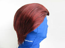 MYSTIC WOMAN FOX RED MYSTIQUE X-MEN SUPERHERO RAVEN COSTUME WIG SUPER VILLAINS