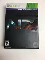 Mass Effect 3 N7 Collector's Edition CE (Microsoft Xbox 360) CIB Complete Rare