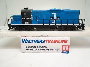 Walthers Ho 931-451 GP-9M locomotive, Boston & Maine 1754