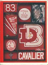 BISHOP DUBOURG HIGH SCHOOL, SAINT LOUIS, MISSOURI YEARBOOK - CAVALIER - 1983