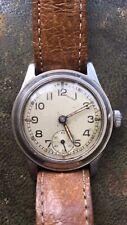 Vintage ENICAR Military WW2 ATP Wrist Watch MoD Arrow 1940 Army Trade Pattern