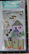 Jolee's LOCK AND KEY Boutique Stickers HALLOWEEN HAUNTED HOUSE SPOOKY SPIDERS
