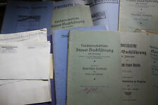 Oxenbronn ( Ichenhausen ) und Günzburg -  Buchführungshefte, Rechnungen um 1930