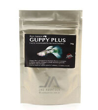 Boss Aquaria - GUPPY PLUS 30 grams for live - bearers, small fish
